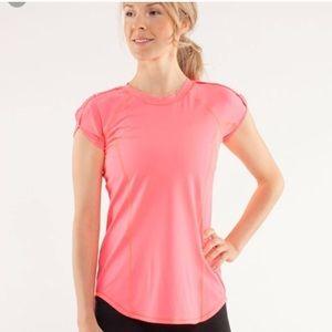 Lululemon Run Sun Sprinter Short Sleeve Top
